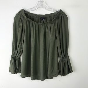 Sanctuary Off The Shoulder Blouse Flounce #792